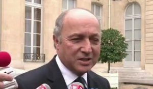 "Réélection d'Obama: ""une excellente nouvelle"", dit Fabius"