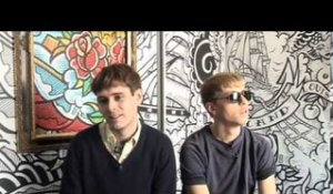 The Drums 2010 interview - Jonathan and Jacob (part 1)