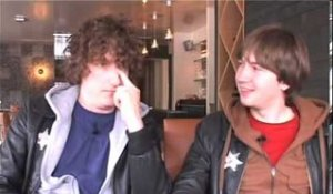 The Pigeon Detectives 2007 interview - Matt and Oliver (part 1)