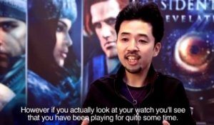 Resident Evil Revelations - Making-Of #1 - Interview de Tsukasa Takenaka