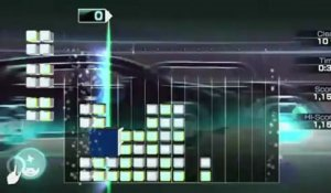 Lumines : Electronic Symphony - Gameplay #1 - Quelques puzzles et ambiances
