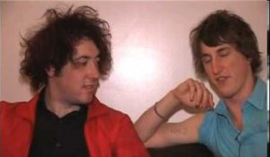 The Wombats 2007 interview - Matthew and Dan (part 3)