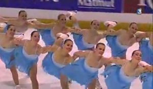 Patinage synchronisé : la perfection multipliée par 16