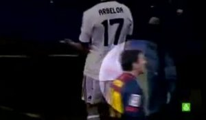 Quand Lionel Messi crache sur le banc du Real Madrid