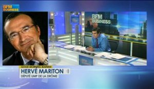 La fiscalisation de prestations familiales : Hervé Mariton - 18 février - Good Morning Business
