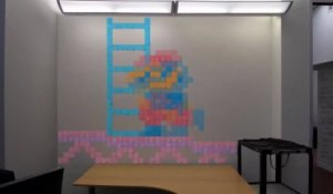 Du Stop-Motion en Post-It
