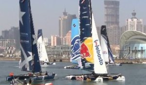 Extreme Sailing Series - Racing in China - 2013