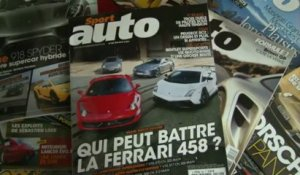 Qui peut battre la Ferrari 458 Italia ? (making of photo)