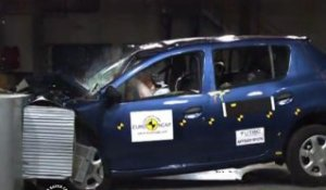 Crash-test Euro NCAP - Dacia Sandero