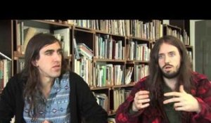 Crystal Fighters interview - Gilbert and Sebastian (part 3)