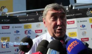 "Tour de France 2013 - Eddy Merckx : ""Un début de Tour assez normal"""