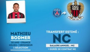 Officiel : Mathieu Bodmer rejoint l'OGC Nice !