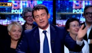 BFM Politique: l'interview de Manuel Valls par Christophe Ono-dit-Biot du Point - 29/09