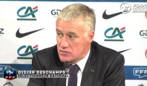 Deschamps commente la prestation de Giroud