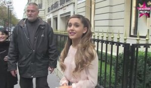 Ariana Grande fait du shopping à Paris