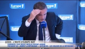 L'interview d'Europe Nuit : Nicolas Dupont-Aignan