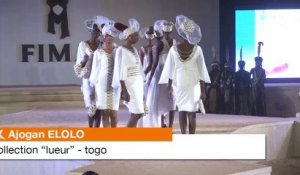Ajogan Elolo (Togo) et sa collection 'lueur' au Fima 2013