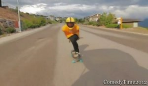 Compilation de chutes en Skateboard - Violent les fails!