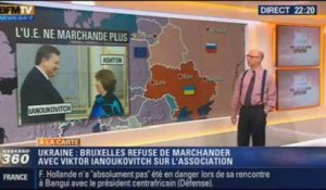 Harold à la carte: Bruxelles suspend ses discussions sur l'accord d'association avec l'Ukraine – 15/12