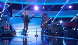 "Johnny Hallyday "" Le Pénitencier "" - Johnny Hallyday, Le Grand Show 21/12/2013"