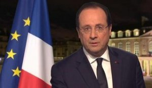 "Voeux 2014: Hollande promet ""l'intransigeance"" face aux discriminations - 31/12"