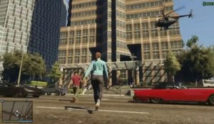 Grand Theft Auto V - Grand Theft Auto Online Trailer