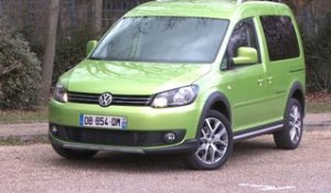 Essai Volkswagen Cross Caddy 1.6 TDi 102 BlueMotion DSG 2014