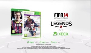 FIFA 14 - Gamescom 2013 : Trailer Ultimate Team Legends