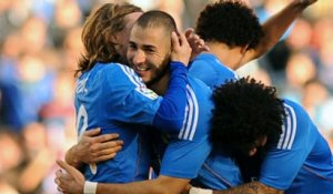 Benzema inscrit son 100e but avec le Real Madrid