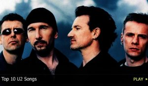 Top 10 U2 Songs
