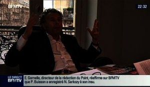 "Le Soir BFM: ""Patrick Buisson enregistrait en secret les conversations confidentielles de Nicolas Sarkozy"", Le Point - 12/02 1/7"