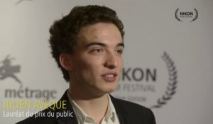 Interview de Julien Aveque - Prix du Public 2013