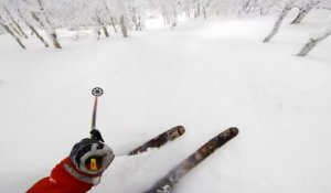 Perfect Powder day at Mt Niseko by Will & Jack Martin