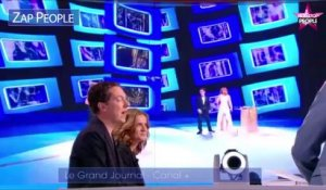 Zap : Guillaume Gallienne très ému au Grand Journal