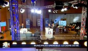 Municipales à Grenoble: le grand débat