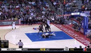 NBA : P.J. Tucker viré du terrain pour avoir frappé Blake Griffin - Phoenix Suns contre Los Angeles Clippers - Violent!