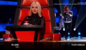 The Voice : 1er divertissement le plus regardé en 2013