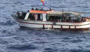 Italie: 4.000 migrants secourus en 48 heures