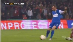 Football - Le superbe lob de Thomas Buffel