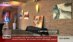 L'art en location!