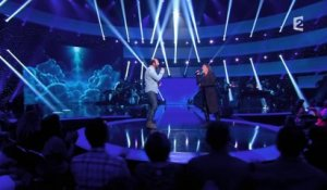 "Kad Mérad et Florent Pagny - ""I believe I can fly"" - Le Grand Show"