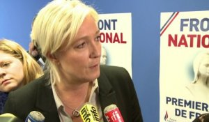 Affaire Bygmalion: réaction de Marine Le Pen