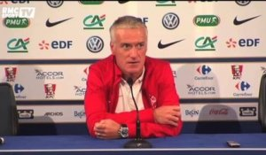 "Football / Deschamps : ""Mettre un peu de folie"" 10/10"
