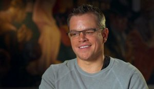 Monuments Men - Interview Matt Damon VO