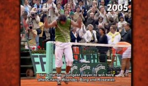 Happy birthday Rafa! - 2014 French Open