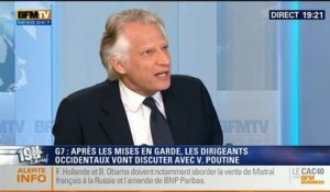Dominique de Villepin: L'invité de Ruth Elkrief - 05/06