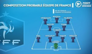 France - Nigeria : les compositions probables