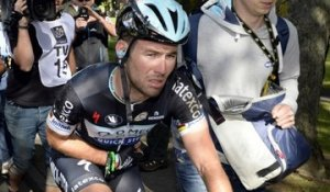 Tour de France 2014 - Etape 1 - Mark Cavendish après sa chute