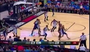 Summer league : les highlights de Dante Exum face aux Sixers