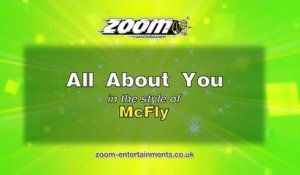 Zoom Karaoke - All About You - McFly